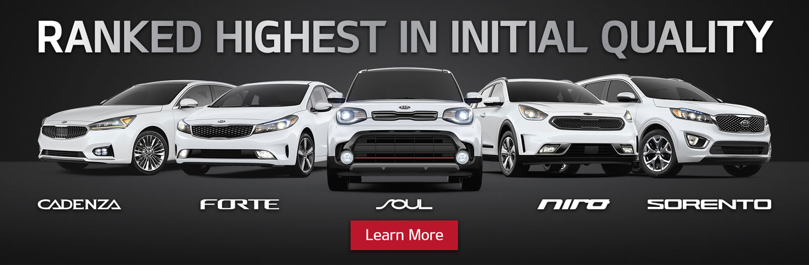 Ranked Highest in Initial Quality Scarboro Kia