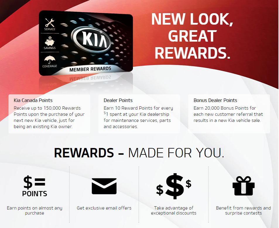Member Rewards, Scarboro Kia, Scarborough, Ontario