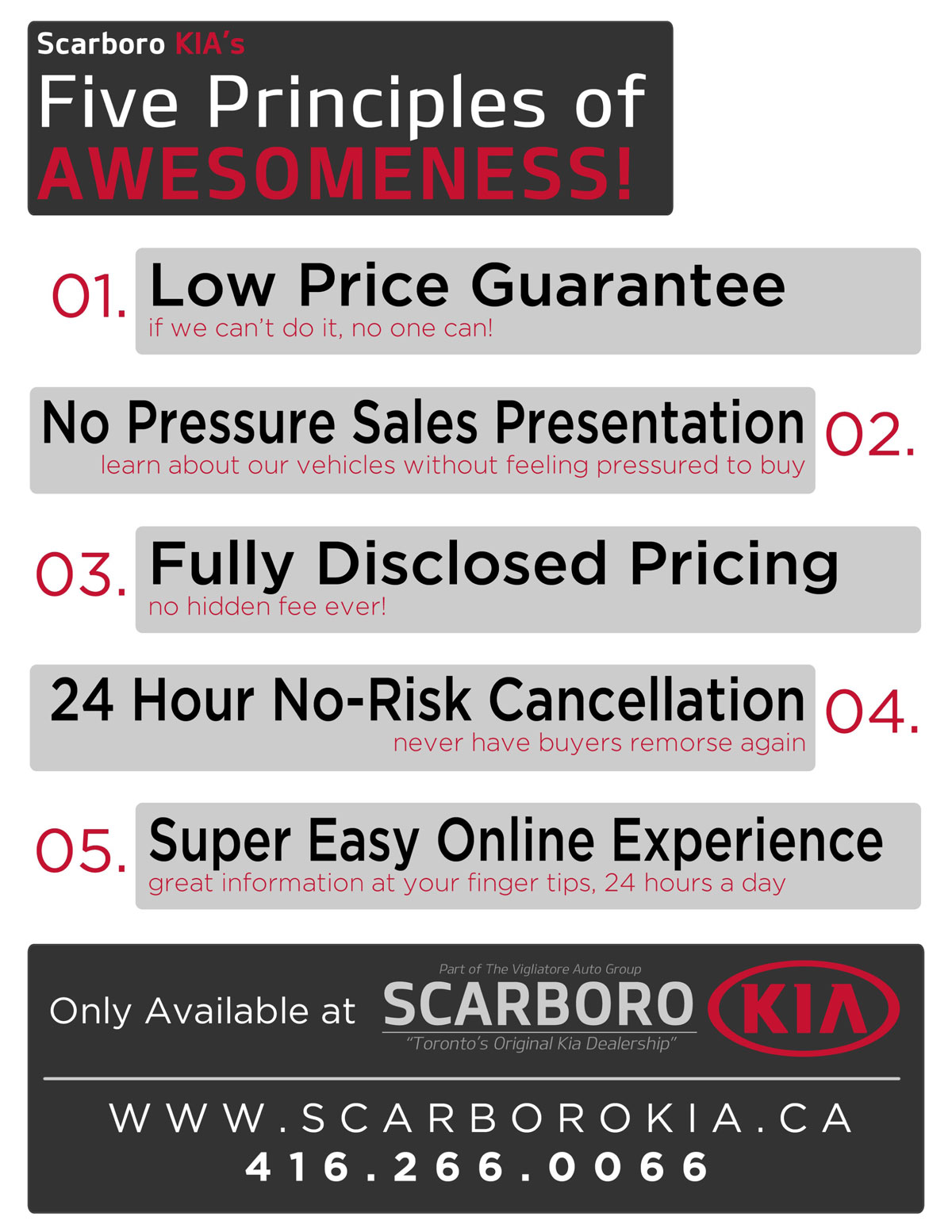 Why Choose Scarboro Kia